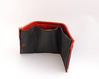 Small Men Wallets, Small Leather Men Wallets, Slim Leather Wallet, Men's Wallets, Brown Wallet, Leather Wallet.