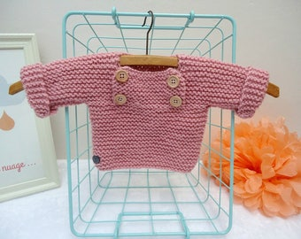 Zeina 0/1 month sweater knit baby