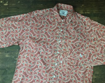 90s Lee Floral Long Sleeved Shirt