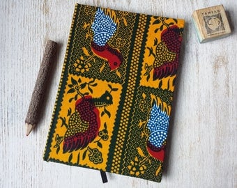 2017-2018 A5 academic midyear planner diary calendar agenda A5 daily Unique Bespoke Customised hardback cover African print
