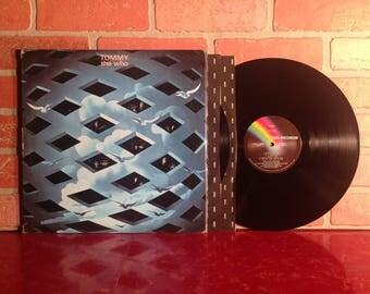 The Who Tommy Vinyl Record Album Double LP 1969 Gatefold Rock Opera Pinball Wizard Progressive English Classic Rock Music Vintage