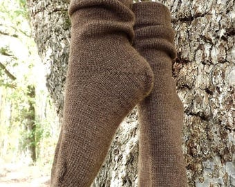 1910 Shepherd Socks-Moorit-Women's size 7-9