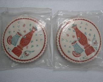 Vintage Barware, Vintage Coasters