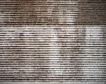 Old Metal Wall - Exclusive - Vinyl Photography Backdrop Floordrop Prop