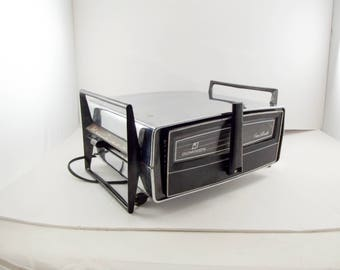 Mid Century Chrome Kitchenette Dominion Broiler Oven