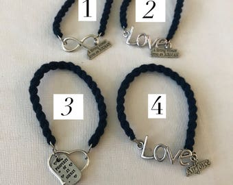 Airforce Boot band Bracelet