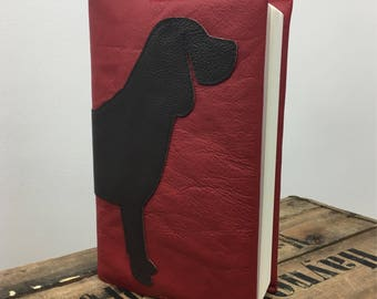 Leather Beagle Notebook