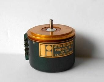 CIJ SALE Antique Litton Precision Wirewound 10 Kilo ohm Potentiometer 1948