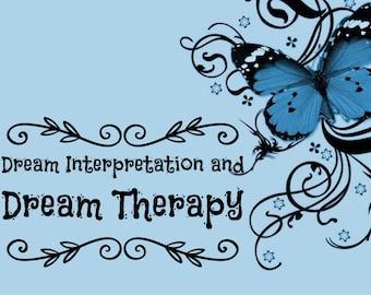 Dream Interpretation and Dream Therapy