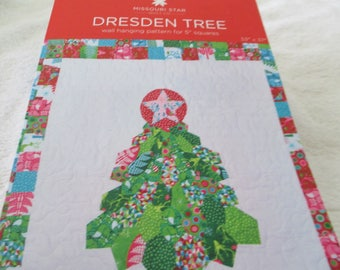 Paper Pattern for a quilt called Dresden Tree by Missouri Star Quilt Co