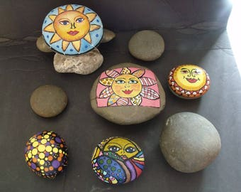Beach Stones, Rocks, Perfect for Painting, Mandala, Zentangle, Affirmations and Your own Unique Designs