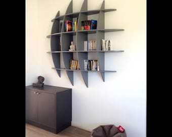 Bookcase design RETENTO RONDE2