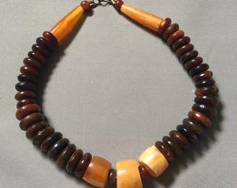Vintage Horn Necklace