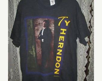 35% OFF Vintage Ty Herndon Promo Tour T-shirt