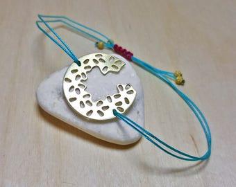 Summer Turquoise Bracelet, Minimalist String Bracelet, Boho Bracelet Ideas, Delicate Summer Bracelet, Summer Party Favors, Boho Bracelet