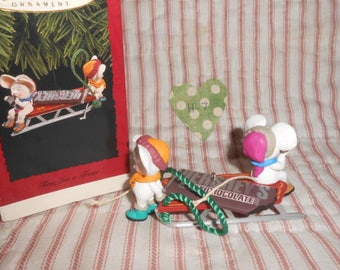 "Hallmark Keepsake Ornament 1996 ""Time For A Treat""-Free Shipping-H-7"