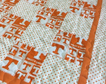 "Tennessee ""GO VOLS""  Baby Quilt"