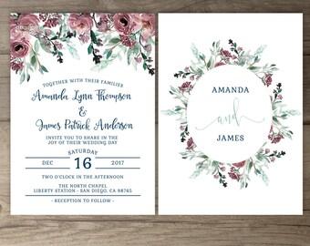 wedding invites printable
