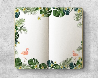 Printable Personal Planner Inserts.  Tropical.