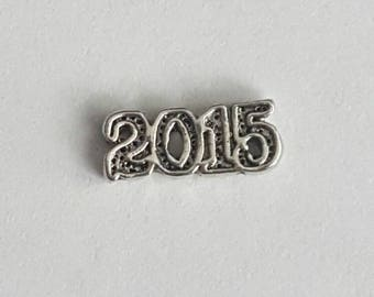 Year 2015 Floating Charm - Origami Owl- Living Locket