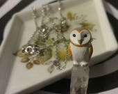 Crystal Owl resvered for Shea