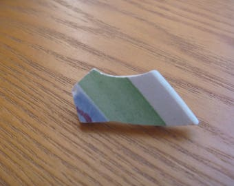 sea pottery brooch, ecofriendly ooak brooch