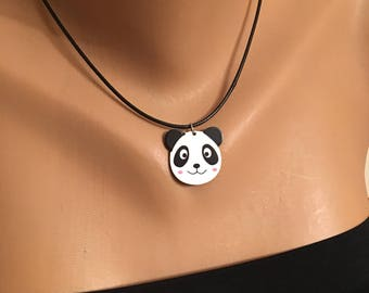 Panda Necklace, Panda Face Jewelry Jewellery, Panda Lovers, Panda Gift, Kids Necklace, Kids Jewelry, Animal Gifts for Girls, Best Gifts
