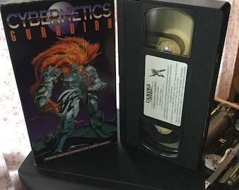 Cybernetics Guardian manga M.D. geist movie vhs