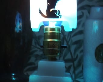 Art Deco Scotty Dog Boudoir Lamp