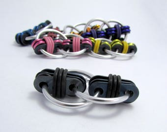 Black Fidget Toy - Stress Reliever Toy - Fidget Toy for Autism, ADD, ADHD, OCD etc - Autism Charity Fundraiser!