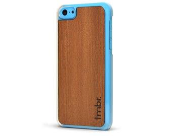 iPhone SE Case Wood, Wooden iPhone SE Case, Rosewood iPhone SE Clear Case - CLR5