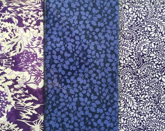 "10"" x 13"" pieces - Pack of 3 - Liberty London Tana Lawn"