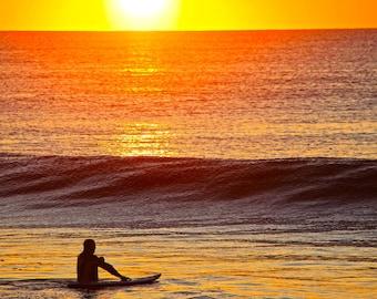Bay Head Surfer Sunrise