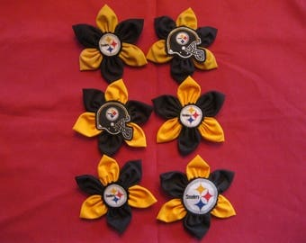 Pittsburgh Steelers Pins-2 Sports Team Pins-NFL Gift-Pittsburgh steelers accessories-Gift For Women-Sports Fan Gift-Gift under 15
