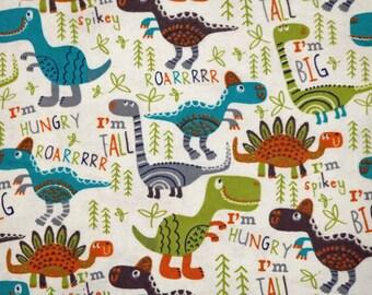 PRE-Order, Dinosaurs, Knitting Bag, Flannel, Crochet, Knit, Yarn, Wool, Yarn Storage, Yarn Bag with Hole, Grommet, Handle