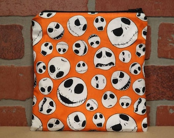 One Sandwich Bag, Reusable Lunch Bags, Waste-Free Lunch, Machine Washable, Nightmare Before Christmas, Sandwich Sacks, item #SS76