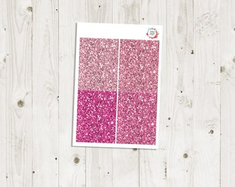 Pink Glitter Headers - ECLP Stickers