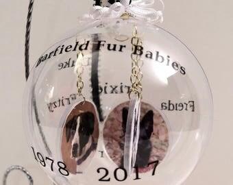 memory keepsake photo ornaments, christmas ornaments