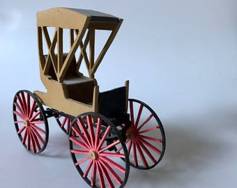 Hand made Model of Antique Buggy