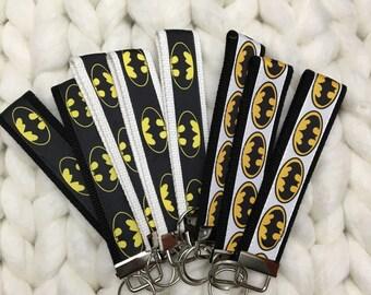 Batman Keychains/Key Fobs, nerdy, geeky, fandom