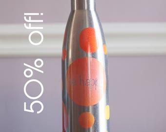 Sample Sale!  Be Happy Hydration Bottle