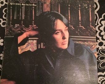 Joan Baez One Day At A Time vinyl record
