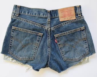 High waisted LEVI'S shorts