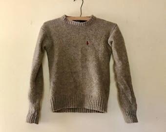 Vintage Polo Ralph Lauren wool sweater