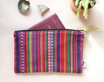 Peru Pencil Pouch Men, Passport case, Travel Organizer