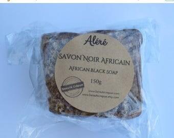 ON SALE African Black Soap - 100% Natural and Vegetal