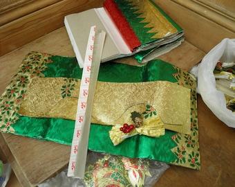 Vintage Christmas Crackers Kit. 1980's Christmas Crackers, Vintage Christmas Crackers, Make Your Own Christmas Crackers, Luxury Foil Cracker
