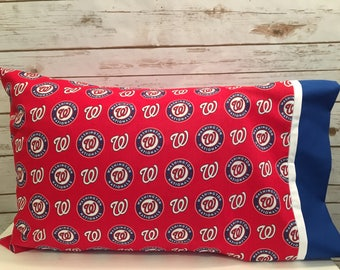 Washington Nationals pillowcase