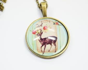 Necklace Deer
