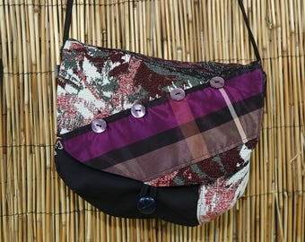 Hobo shoulder Lyne Collection Patchwork fabrics